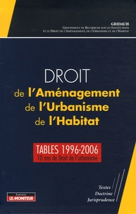 Droit de lAménagement, de lUrbanisme, de lHabitat - Tables 1996-2006.pdf