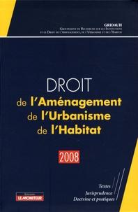 René Cristini - Droit de l'Aménagement, de l'Urbanisme, de l'Habitat.