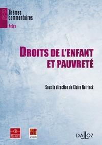 Claire Neirinck et Laurence Bellon - Droits de l'enfant et pauvreté.