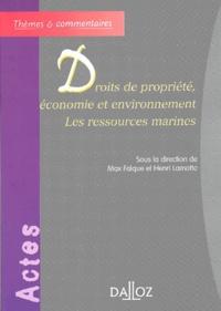 Droits de propriété, économie et environnement. Les ressources marines.pdf