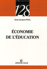 Jean-Jacques Paul - Economie de l'éducation.