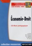 Jean-Charles Diry et M-M Glerean - Economie-Droit BEP, 2e profesionnelle-Te - CD-Rom.
