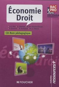 Economie Droit Seconde professionnelle Bac Pro 3 ans - CD-Rom pédagogique.pdf
