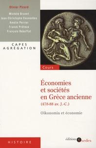 Olivier Picard et Michèle Brunet - Economies et sociétés en Grèce ancienne (478-88 av. J.-C.) - Oikonomia et économie.