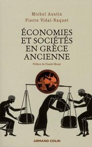 Michel Austin et Pierre Vidal-Naquet - Economies et sociétés en Grèce ancienne.