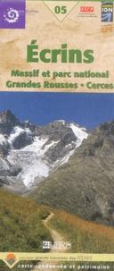 IGN - Ecrins, Massif et Parc national Grandes Rousses, Cerces - 1/60 000.