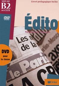 Gérard Quéray - Edito B2, Méthode de français - DVD vidéo, avec un livret pédagogique.