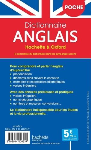 Dictionnaire anglais poche Hachette & Oxford. Bilingue français/anglais - anglais/français