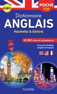 Hachette Education - Dictionnaire poche top Hachette & Oxford - Bilingue Français/anglais - Anglais/français.