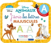 Hachette Education - J'écris les lettres majuscules - Disney Animaux.