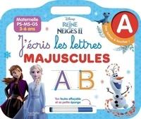 Jécris les lettres majuscules - Reine des Neiges 2.pdf