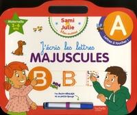 Hachette Education - J'écris les lettres majuscules - Avec un feutre effaçable.