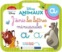 Hachette Education - J'écris les lettres minuscules - Disney Animaux.