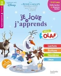 Hachette Education - Je joue et j'apprends Petite et Moyenne Sections 3-5 ans - La Reine des Neiges.