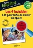 Hachette Education - Les 4 invisibles à la poursuite du voleur de bijoux - CE2 et CM1.