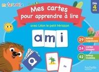 Mes cartes pour apprendre à lire avec Léon le petit hérisson -  Hachette Education   Showmesound.org