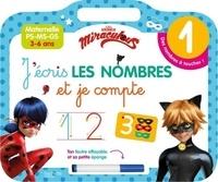 Miraculous J'écris les nombres et je compte- Maternelle PS-MS-GS. Avec un feutre effaçable -  Hachette Education   Showmesound.org