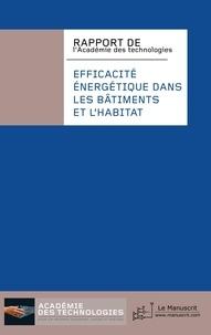 Académie des technologies - Efficacité énergétique dans les bâtiments et l'habitat - Rapport de l'Académie des technologies.