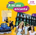Odile Cleren Montaufray et Maria Isabel Becerra Castro - El nuevo A mi me encanta 2e année. 2 CD audio