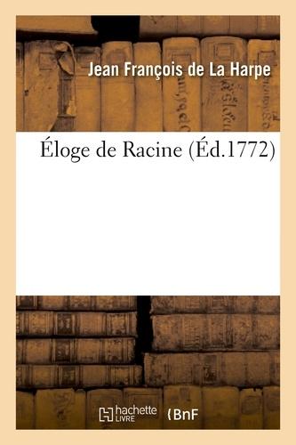 Éloge de Racine