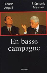 Claude Angeli et Stéphanie Mesnier - En basse campagne.