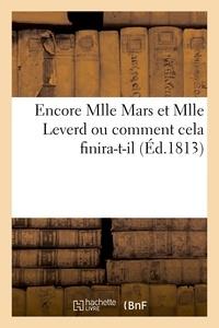 Martinet - Encore Mlle Mars et Mlle Leverd.
