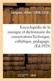 Albert Lavignac - Encyclopédie de la musique et dictionnaire du conservatoire. 2,4.