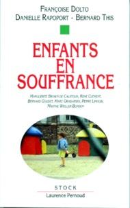 Françoise Dolto et Bernard This - .