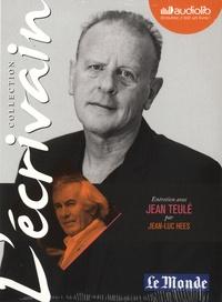 Jean Teulé et Jean-Luc Hees - Entretien avec Jean Teulé. 1 CD audio