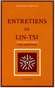 Lin-tsi - Entretiens de Lin-tsi.