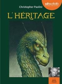 Christopher Paolini - Eragon Tome 4 : L'héritage. 3 CD audio MP3
