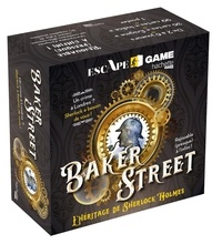 Nicolas Lupi et Serena Blasco - Escape Game Baker Street - L'héritage de Sherlock Holmes.