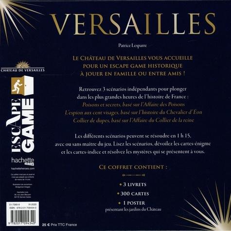 Escape game Château de Versailles. 3 escape games au coeur du château