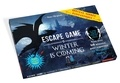"""Larousse - Escape game Winter is coming - Contient : 1 livret organisateur, 2 feuillets """"mission"""", 41 cartes énigmes, 24 enveloppes et 10 cartes personnages bonus et malus."""