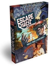 Julien Mindel et  Kaedama - Escape Quest  : Coffret en 3 volumes : A la recherche du trésor perdu ; Au delà du virtuel ; Seul dans le Salem.