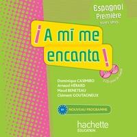 Arnaud Hérard et Dominique Casimiro - Espagnol 1e toutes séries A mi me encanta ! B1 - CD audio pour la classe. 2 CD audio