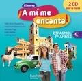 Odile Cleren Montaufray et Maria Isabel Becerra Castro - Espagnol 1re année El nuevo A mi me encanta! A1-A2. 2 CD audio
