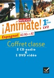 Stéphanie Bourdin Gaillardin et Isaure Dutheil Menestret - Espagnol 1re année LV2 A1/A1+>A2 Nuevo Animate!. 1 DVD + 2 CD audio