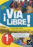 Hatier - Espagnol 1re B1 Via Libre !. 1 DVD + 1 CD audio
