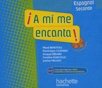 Maud Beneteau et Dominique Casimiro - Espagnol 2e A mi me encanta ! - CD audio pour la classe. 3 CD audio