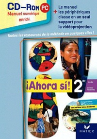 Lauro Capdevila - Espagnol 2e A2/B1 Ahora si ! - CD-ROM.