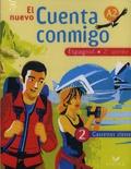 Jean Congar - Espagnol 2e année El nuevo Cuenta conmigo - 2 cassettes audio classe.