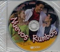 Didier - Espagnol 2e année Nuevos Rumbos - CD audio.