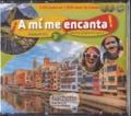 Isabelle Delhaye - Espagnol 3e LV2 A2 A mi me encanta!. 1 DVD + 2 CD audio