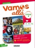 Didier - Espagnol Cycle 4 A1, A1+, A2 Vamos alla. 3 DVD + 3 CD audio