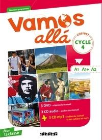 Didier - Espagnol Cycle 4 A1, A1+, A2 Vamos alla. 3 DVD + 3 CD audio