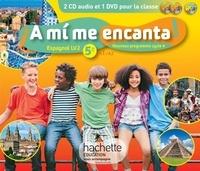 Maria Isabel Becerra Castro - Espagnol LV2 5e A1/A2 cycle 4 A mi me encanta!. 1 DVD + 2 CD audio