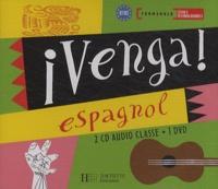 Frédéric Brévart - Espagnol Tle séries technologiques Venga! - 2 CD audio classe. 1 DVD
