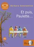Barbara Constantine - Et puis, Paulette.... 1 CD audio MP3