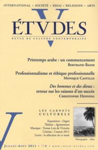 Pierre de Charentenay - Etudes N° 4151, juillet-aoû : .